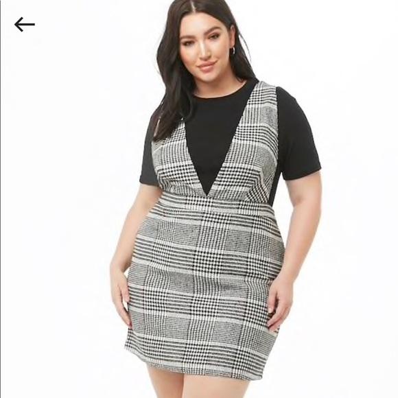 6e9977cf950e3 Black and White Plus Size Dress NWT